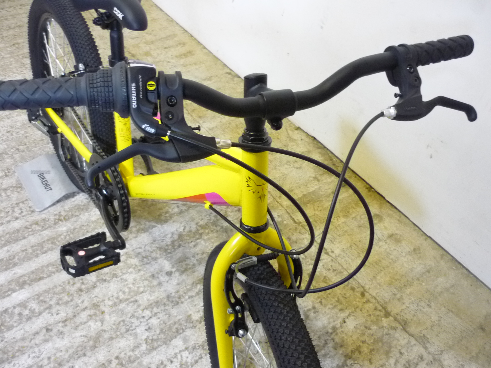 British Eagle Neo 20 Rigid Kids Boys Girls Hybrid Mountain Bike