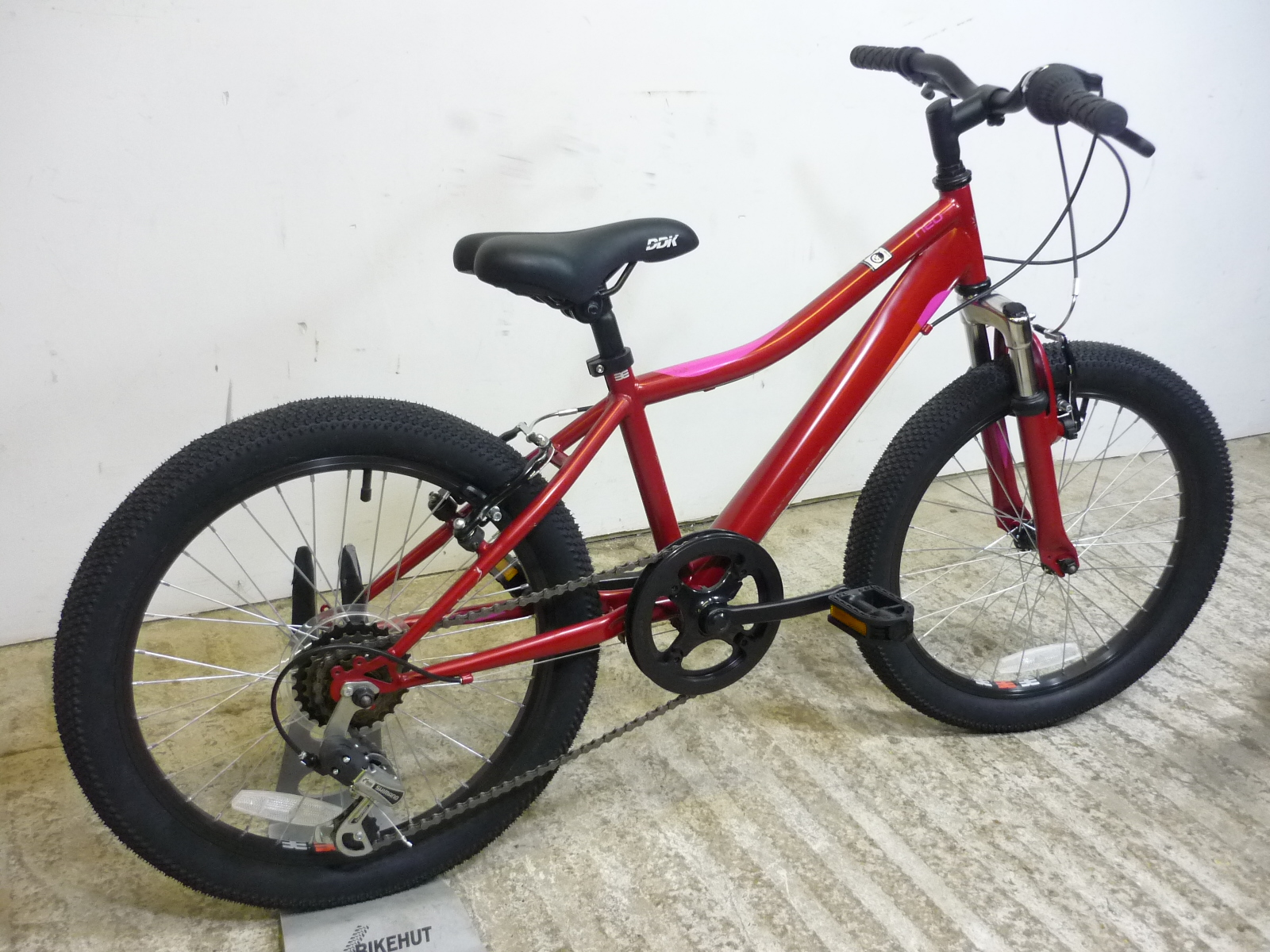 5f9153677b9 ... Bikes|British Eagle Neo 20″ HT Kids Girls Hybrid Mountain Bike (Red).  Sale! 🔍