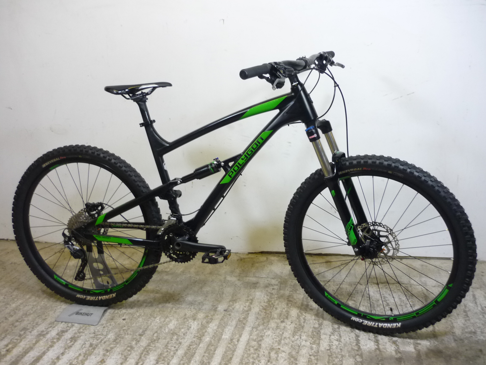 Polygon Siskin D6 19 Quot Gents Full Suspension All Mountain